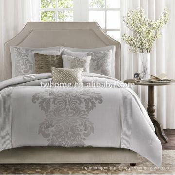 Madison Park Novak edredão capa de edredão natural colour jacquard conjunto de cama