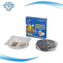Não fumo linha de produção de bobina de mosquito preta na China