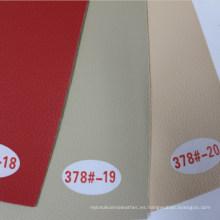 Cuero de PVC anti abrasión para muebles (Hongjiu-378 #)