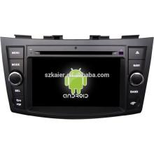 FÁBRICA! Jogador multimídia carro para 4.4.2 versão Android sistema Suzuki Swift