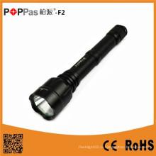Poppas F2 High Power 800 Lumen 2PC 18650 Батареи дальнего действия СИД Тактический фонарик