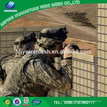 Gabion soldado de alta qualidade melhor preço para barreira hesco militar