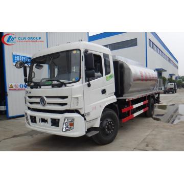 Nuevo camión de pulverización de betún Dongfeng 12tons