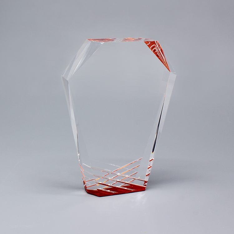 Clear Acrylic Trophy