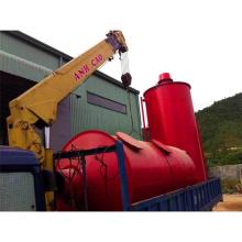 carvão vegetal de madeira do tratamento de resíduos carbonização carvão de madeira do forno que faz a máquina