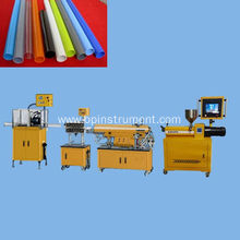 Single screw plastic pipe extrusion line