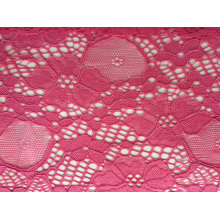 Jacquard Nylon Span Lace Fabric