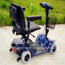 Scooter de mobilidade de 4 rodas para idosos e deficientes com CE, TUV, EN12184 aprovado