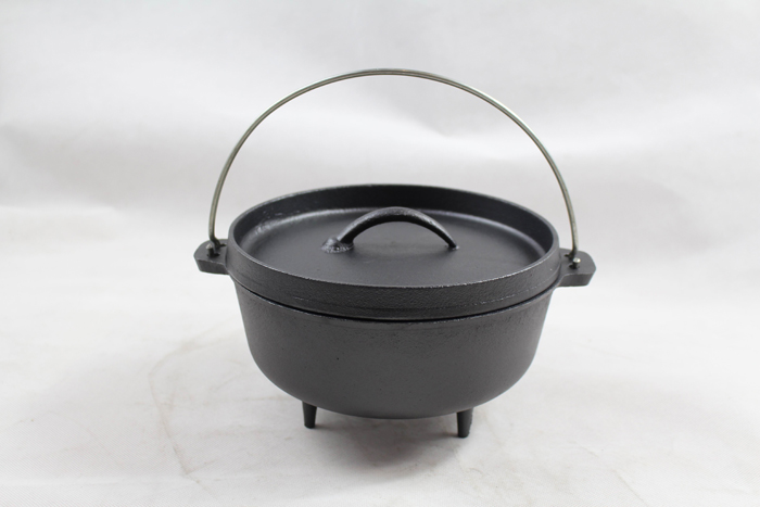 Wax Finish Cast Iron Dutch Oven