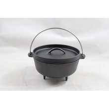 Wax Finish Camping Dutch Oven