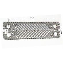 Placa de 316L semelhante m3 para trocador de calor de placa, placa de exchager de calor de substituição M3