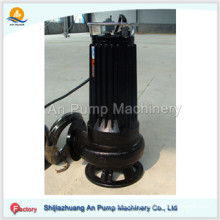 Electric Stainless Steel Non Clogging Submersible Trash Pump with Agitator