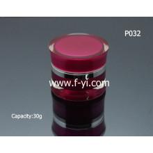 Hot Sale Moda 30g vazio acrílico frasco cosmético