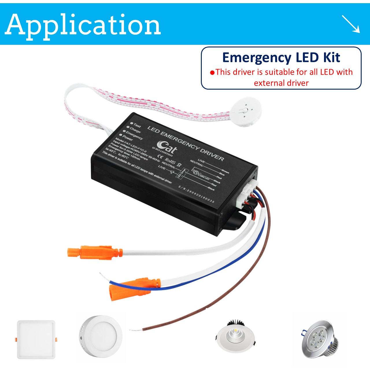 battery pack emergency lighting