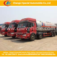 Heavy Duty 8 * 4 FAW 35500 Liter LPG Transport Tankwagen