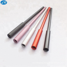 Customized New model long gift ball pen with colorful anodized