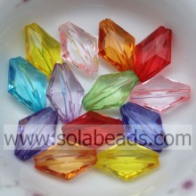 Whole Sale 19*28MM  Colorful Tapered Bicone Spacer Charm""