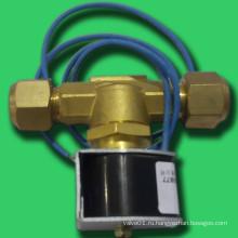 Поршневой электромагнитный клапан может устанавливаться горизонтально и вертикально