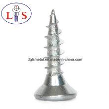 Vis à tête cylindrique en acier au carbone plaqué zinc