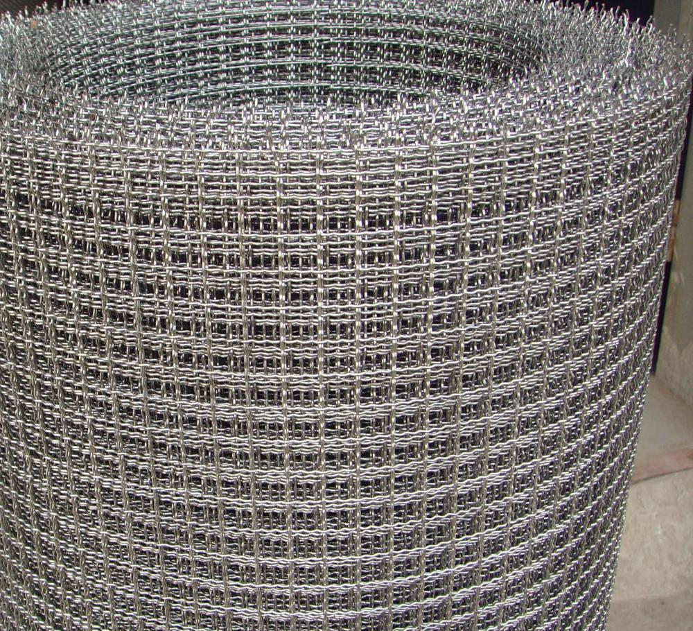 Decorative Stainless Steel Woven Crimped Wire Mesh