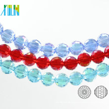 A5003#-3 AB Color 96 Faceted Glass Chunky Disco Ball Accessories Crystal Cabochons Beads