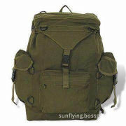 Military Backpack with Waterproof Coating, Made of 1000D Nylon, Customized Sizes are Accepted
