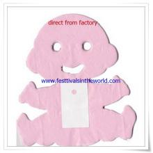 2015 projeto novo 12 festão do bebê do lenço de papel do pé para a decoração do aniversário