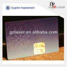 Heißer Verkauf klare weiche Plastik Identifikation-Kartenhaltertaschen