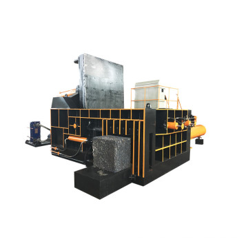 Empacadora automática de chatarra hidráulica automática