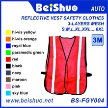 Roadway Reflective Safety Breathable Vest