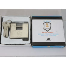 Hardened Solid Steel Rectangular Padlock
