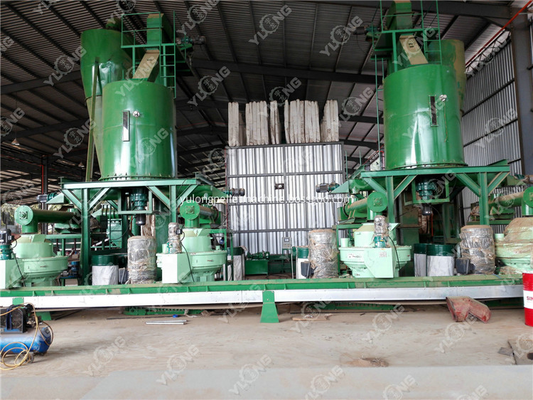 wood burning pellet making machine