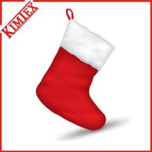 Оптовая популярных рождественских подарков Санта-Клауса чулок