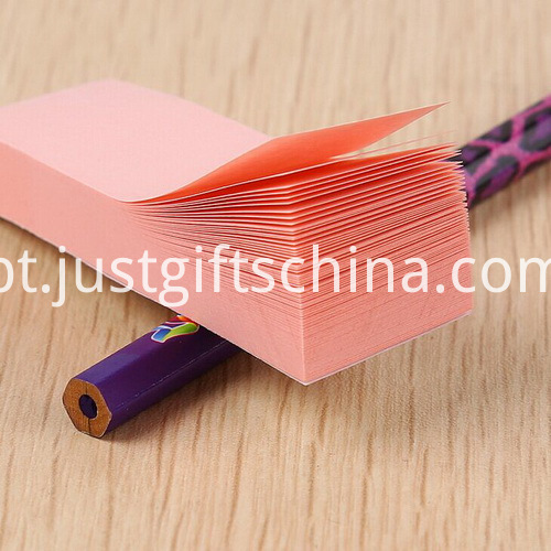 Promotional Mini Sticky Notes With 3 Color4