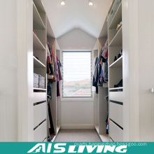 Customized Walk in Melamine Wardrobe Closet (AIS-W004)