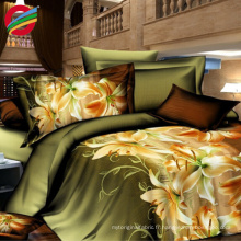 Shrink-Resistant pure polyester printed pique home textile fabric