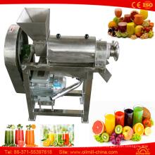 Orange Machine Apple Lemon Ginger Extrator de Espremedor de Prensas a Frio Lento
