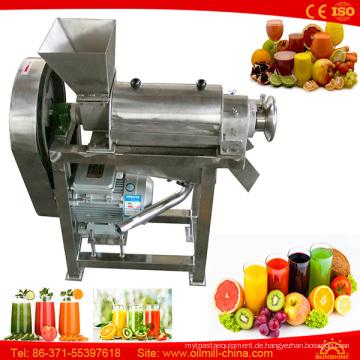 Kommerzielle orange Juicer-Karotten-Wheatgrass-industrielle Kokosnuss, die Maschine herstellt
