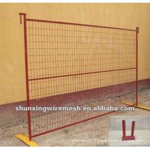 Usine de clôture de construction portable au Canada
