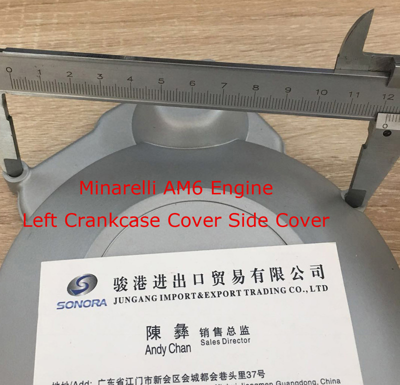 Minarelli AM6 Engine Left Crankcase Cover 3
