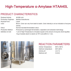 Concentrated High-Temperature α-Amylase untuk alkohol