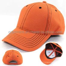 Casquette de baseball 100% polyester en polyester de haute qualité (TMB4474)