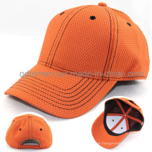 High Quality 100% Polyester Fabric Sport Baseball Cap (TMB4474)
