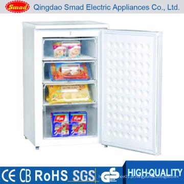 100L Single Door Portable Mini Congelador Vertical