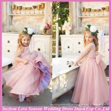 HF5001 OEM Aceitou qualidade superior fotos de preço de fábrica à venda tull bebê menina handmade princesa crianças vestido de noiva crianças
