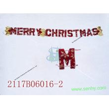 Decoração de decoração de parede não tecida de Natal