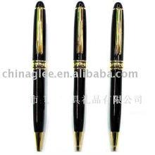 conjunto de caneta metálica (caneta com lapiseira)