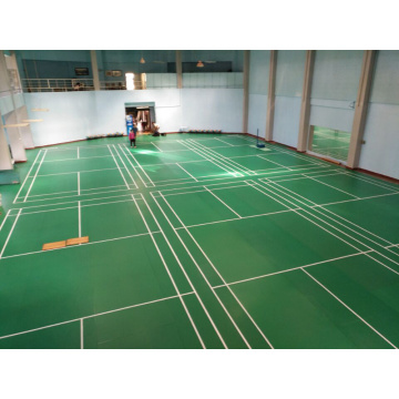 Plancher de badminton standard international