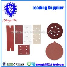 disco de papel de arena de flocado de óxido de aluminio