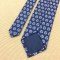 Impression à la main de luxe sur mesure Cravates en soie personnalisées pour hommes chinois
